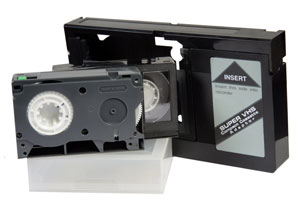 VHS-C Video Tapes