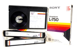 Betamax Tapes to DVD